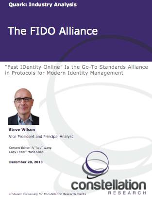 The FIDO Alliance Cover