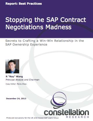 SAP Negotiations Handbook Cover