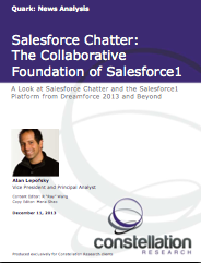 Salesforce Chatter Salesforce1