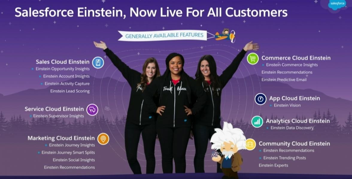 Salesforce Einstein Rolls Out  Ibm Watson Awaits