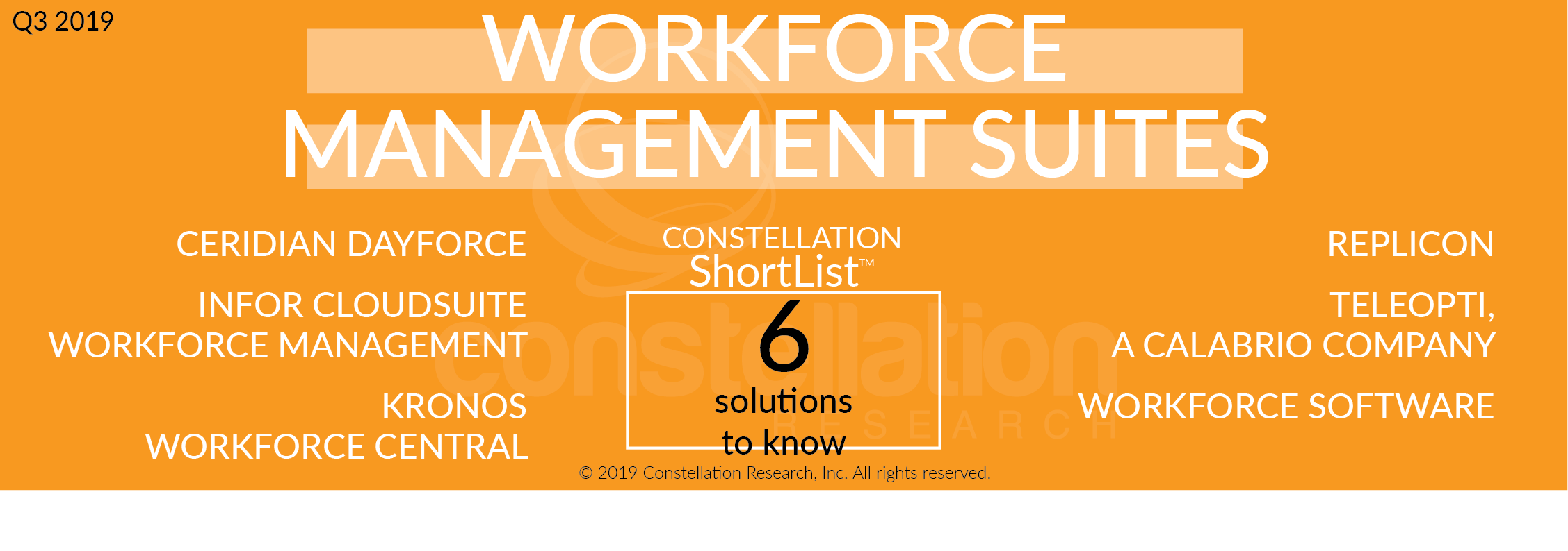Constellation ShortList™ Workforce Management Suites