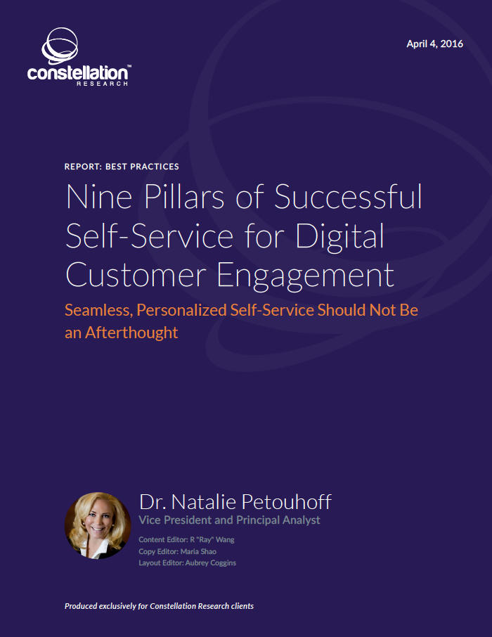 9 Pillars of Self-Service Customer Engagement