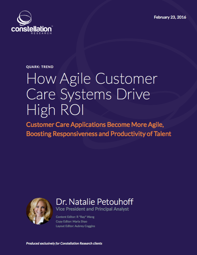 Agile Customer Care Constellation Research