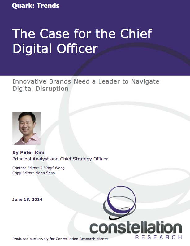 Chief Digital Officer Report Cover