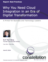 Cloud Integration Report Cover