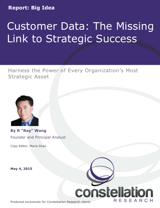 Customer Data  The Missing Link to Strategic Success