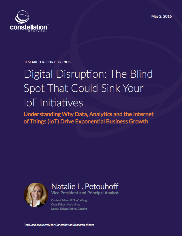 Digital Disruption: The Blind Spot That Could Sink Your IoT Initiatives