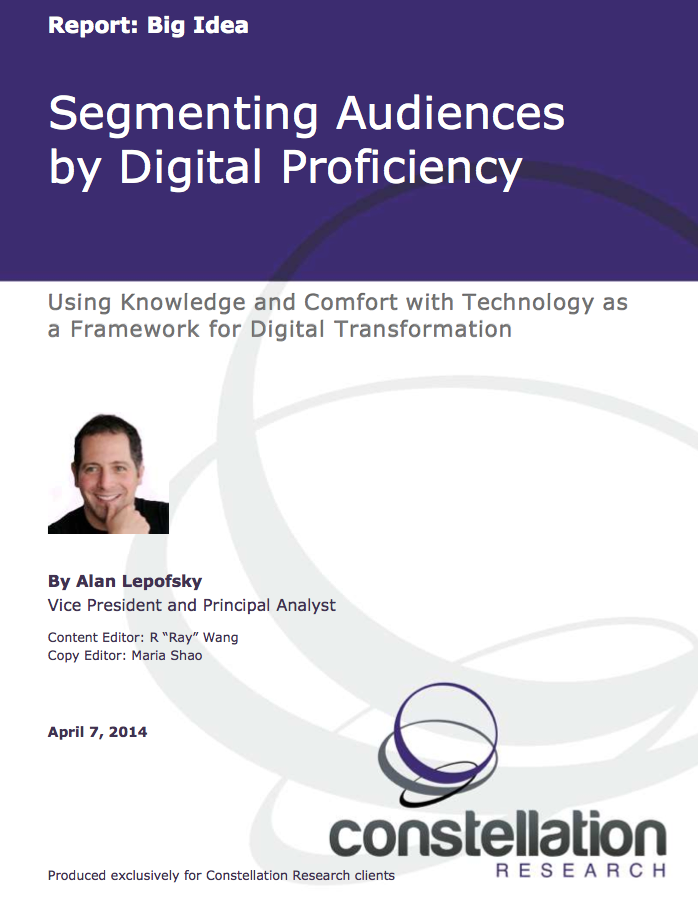 Digital Proficiency Report Cover