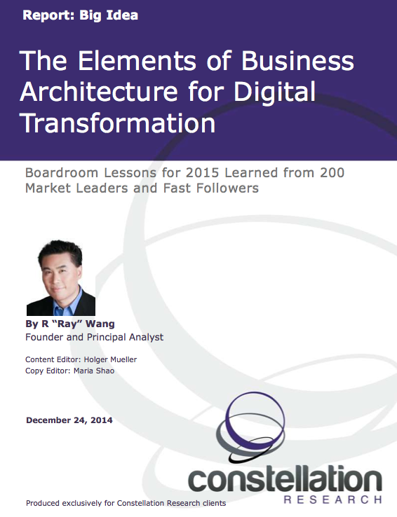 Elements Architecture Digital Transformation Report Cover