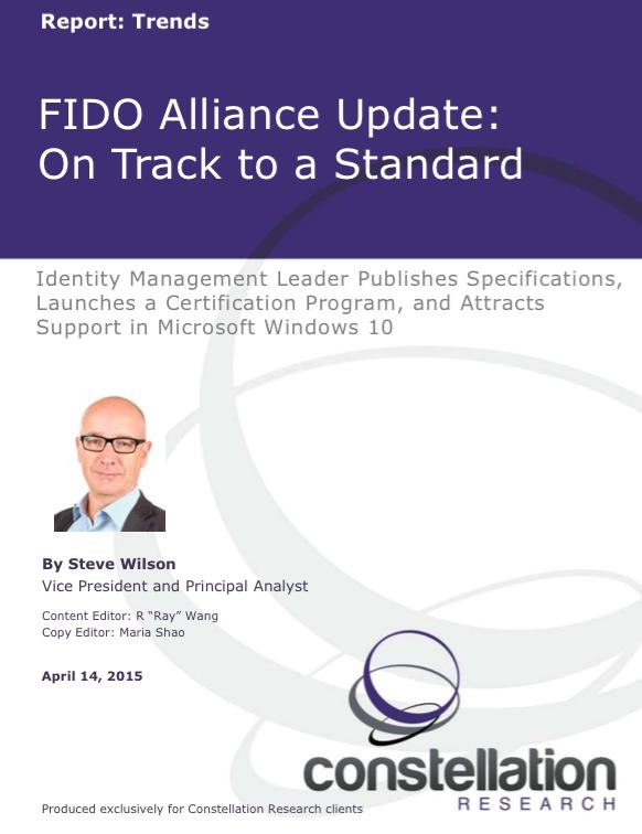 FIDO Alliance Report