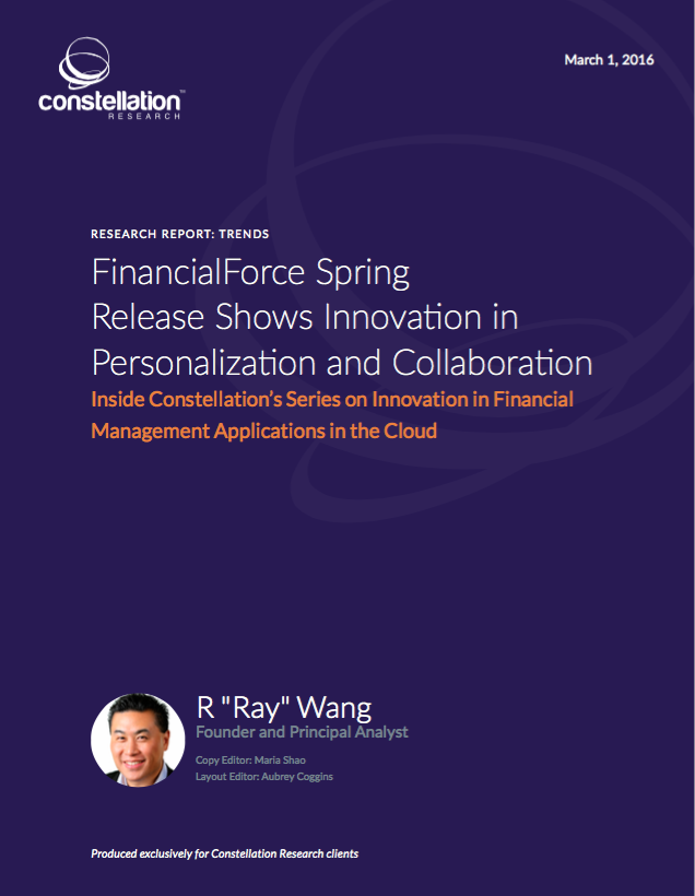 FinancialForce Spring 2016 Release Review