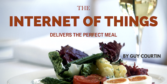 IoT Delivers the Perfect Meal