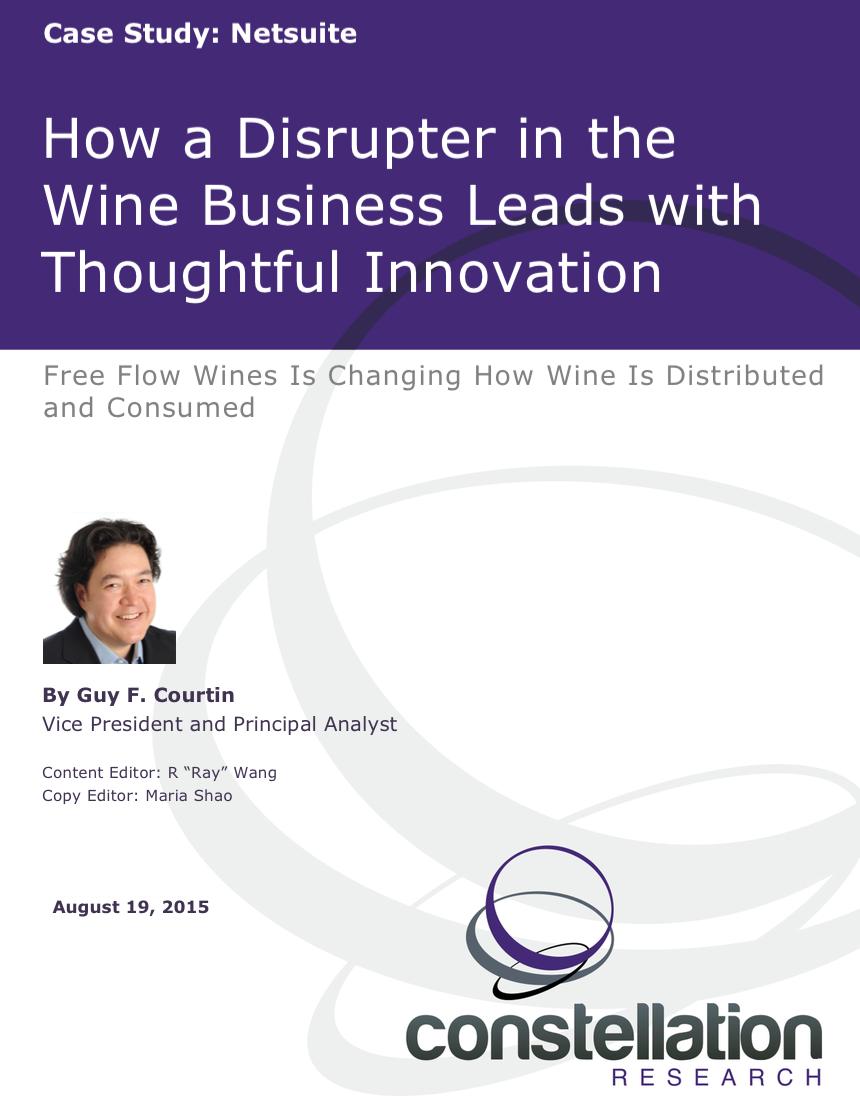 Free Flow Wines Netsuite Case Study