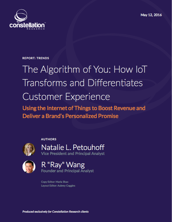 Algorithm of You: How IoT Transforms Customer Experience