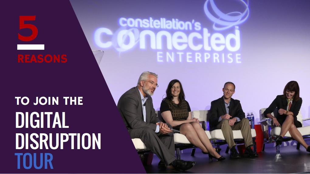 Join Constellation's Digital Disruption Tour