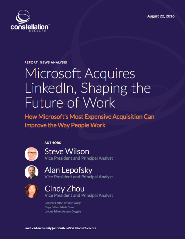 Microsoft Acquires LinkedIn, Shaping the Future of Work