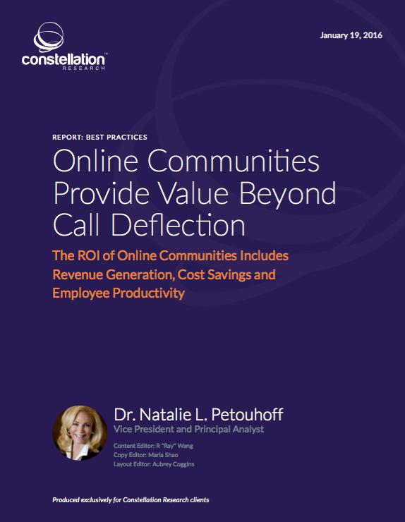 Online Communities ROI
