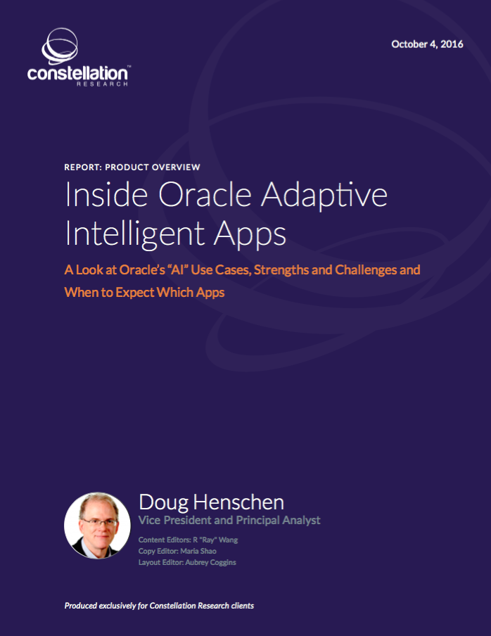 Oracle Adaptive Intelligent Apps Product Review
