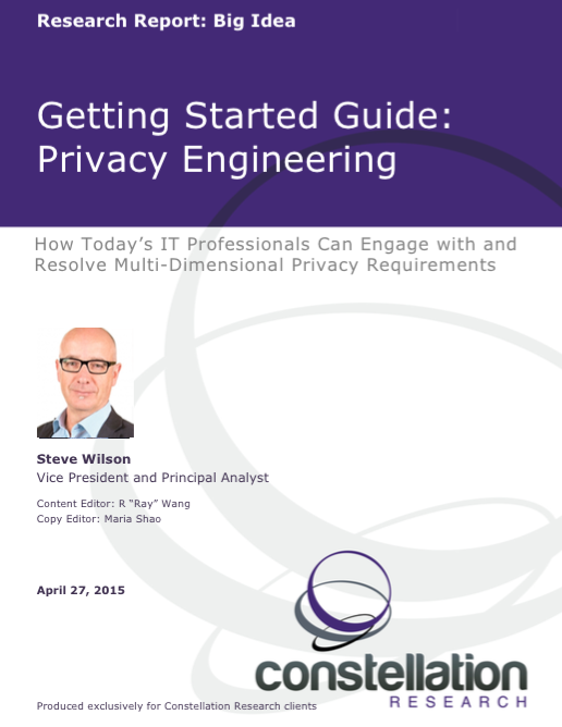 Getting Started Guide: Privacy Engineering