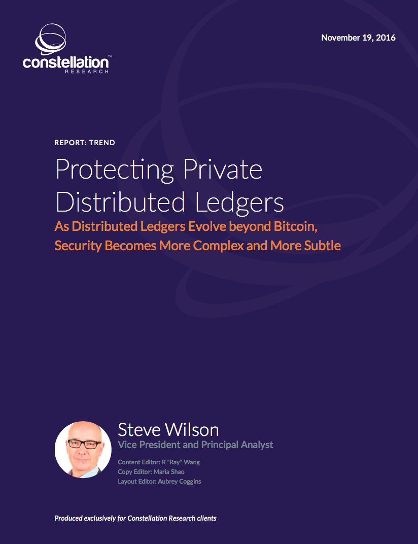 Protecting Private Distributed Ledgers