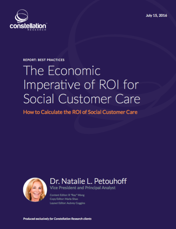 ROI of Social Customer Care