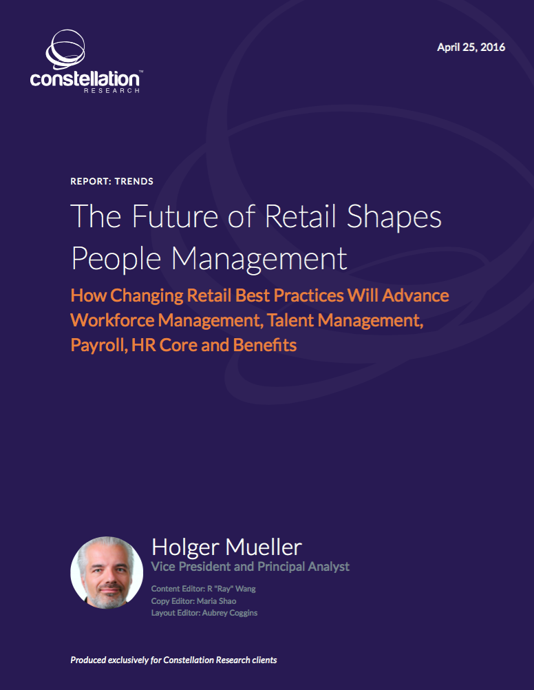 The Future of Retail Shapes People Management