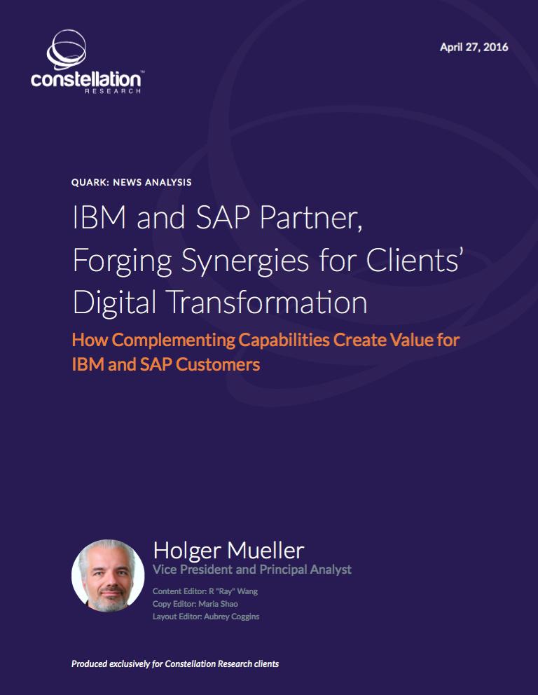 SAP IBM Partnership Analysis Report