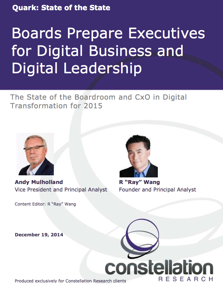 State of Digital Business and Leadership