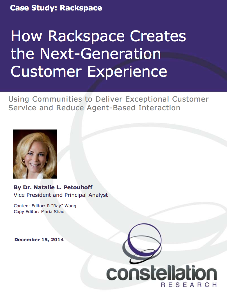 Rackspace Customer Experience Case Study
