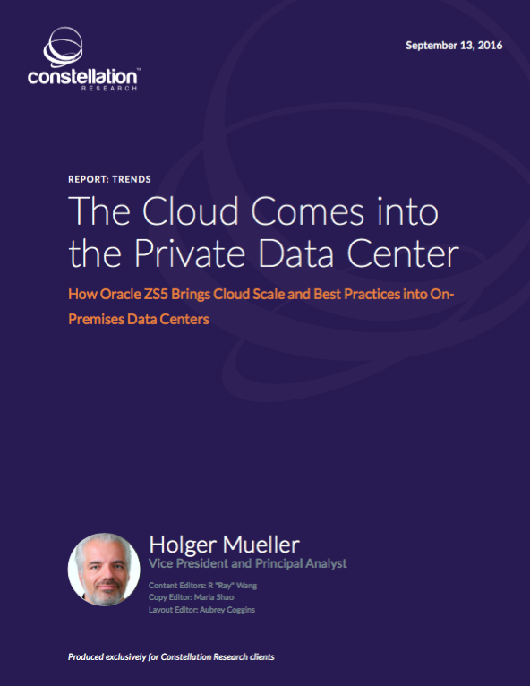 The Cloud Comes into the Private Data Center