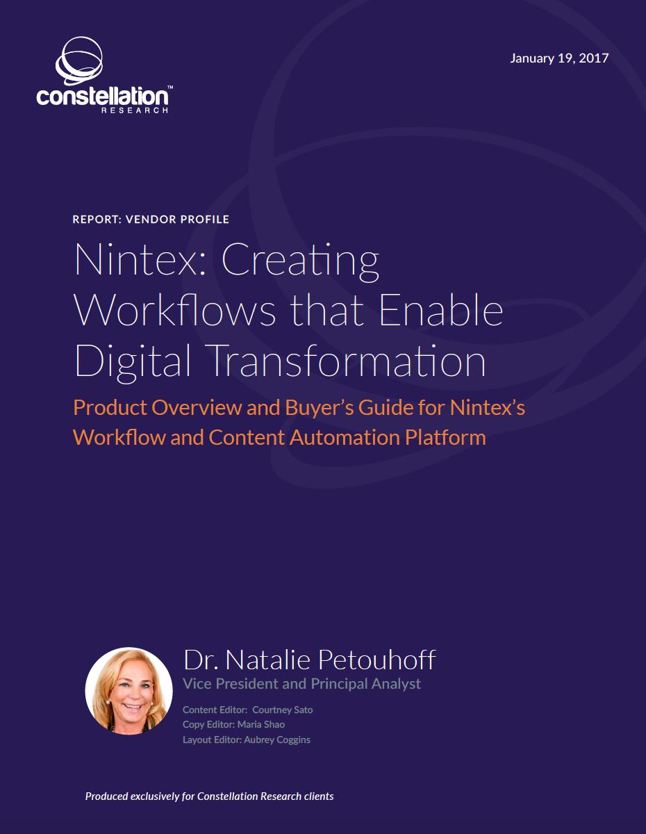 Nintex vendor profile