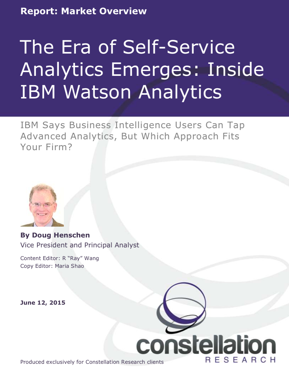 IBM Watson Analytics Market Overview