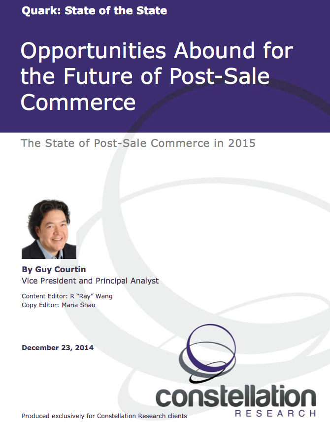 Post Sale Commerce Report Cover