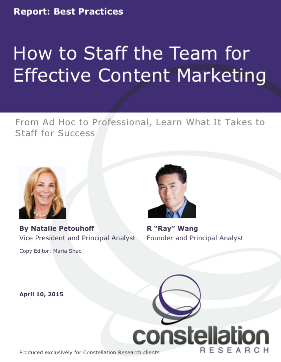 How to Staff for Effective Content Marketing