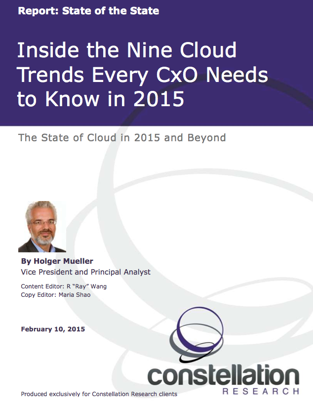 9 Cloud Trends CXOs Need to Know 2015