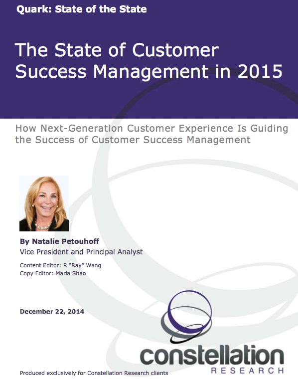 State of Customer Success Management