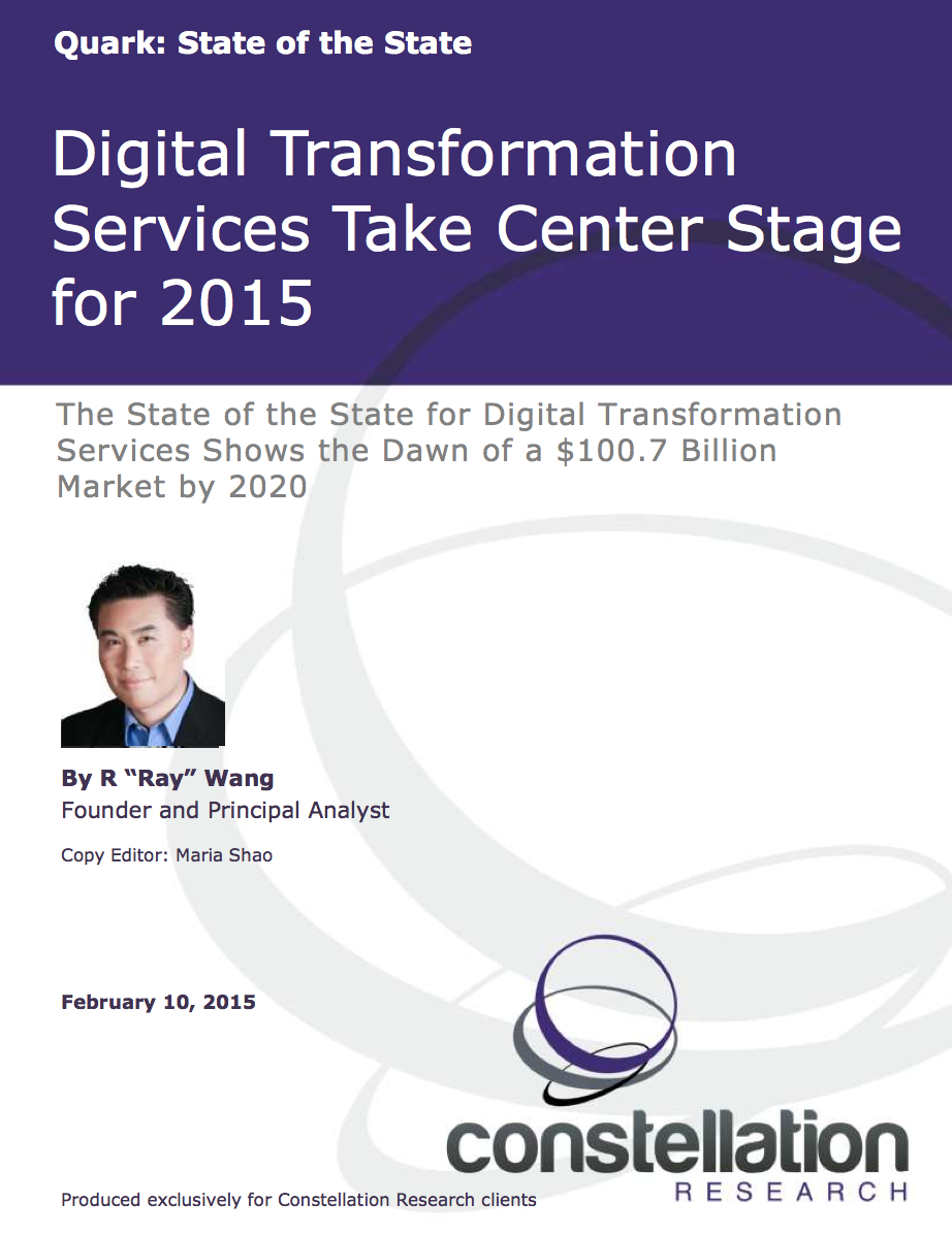 State of Digital Transformation Services