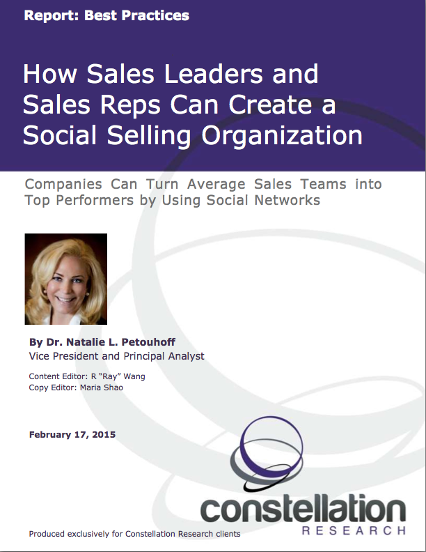 Social Selling Report Cover