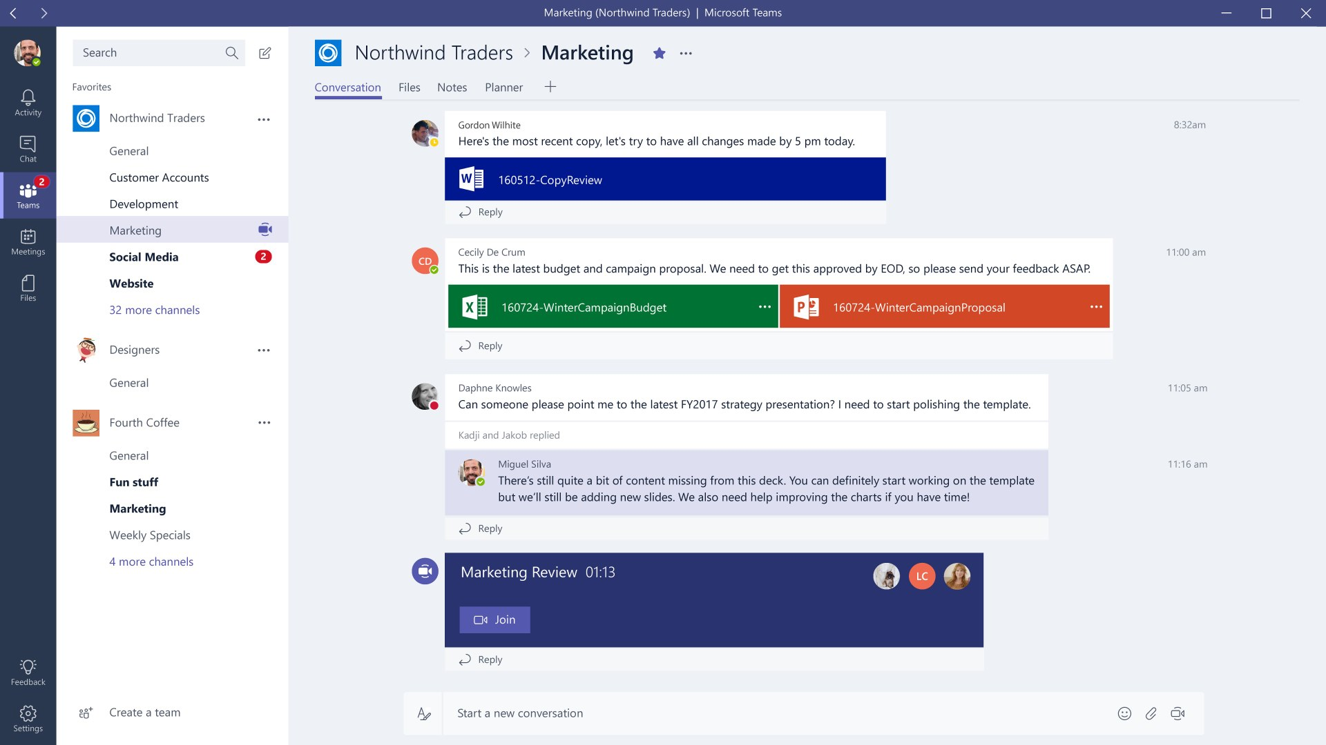 Microsoft Enters The Group Chat Market With Microsoft