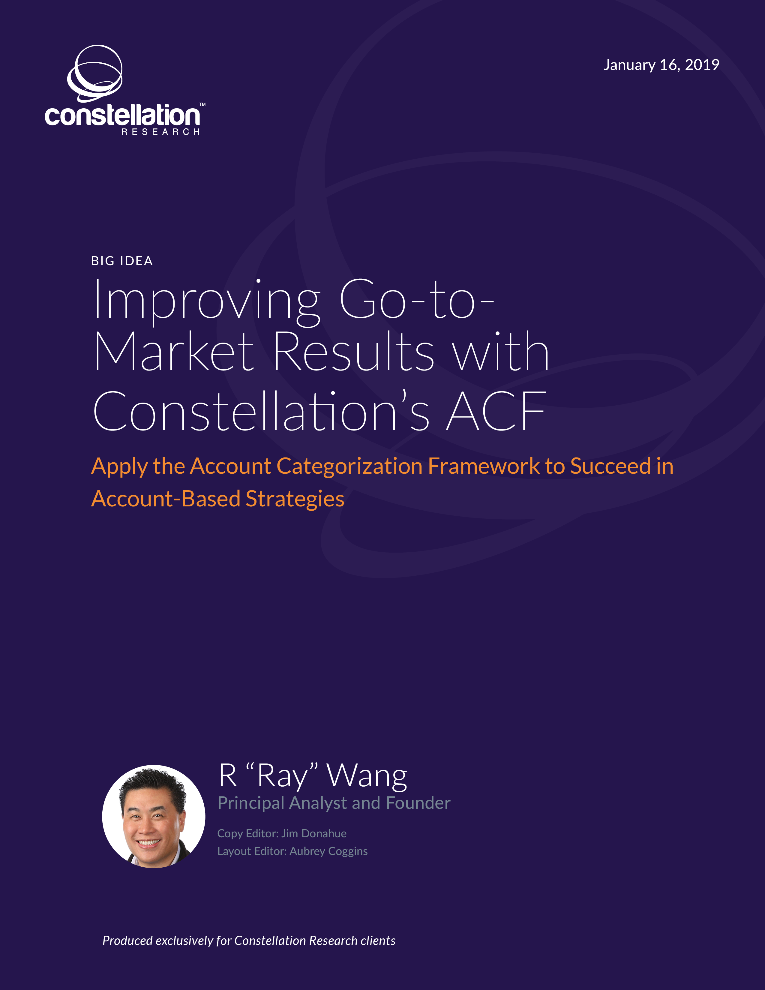 Improving Go-to-Market Results with Constellation's ACF