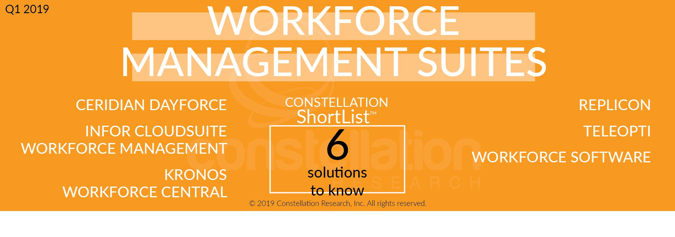 Constellation ShortList™ Workforce Management Suites | Constellation