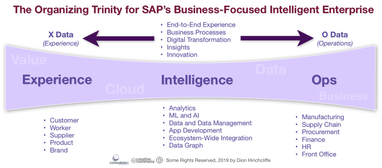 The SAP Intelligent Enterprise in the Cloud: Focused on Experience (Customer, Employee), Analytics, and Operations (ERP, Supply Chain)