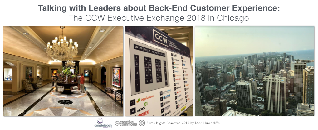 Talking with Customer Experience Leaders at the CCW Executive Exchange - Contact Centers, Customer Care, Customer Support