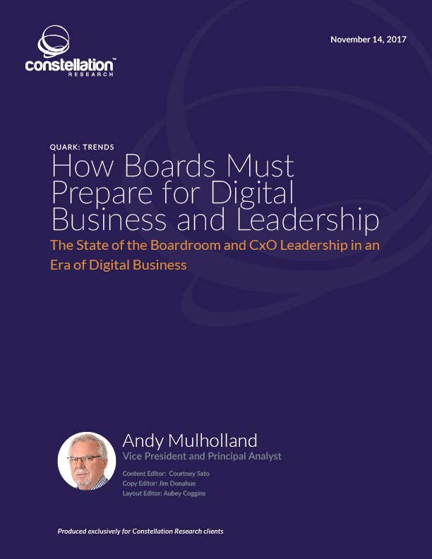 How Boards Must Prepare for Digital Business and Leadership