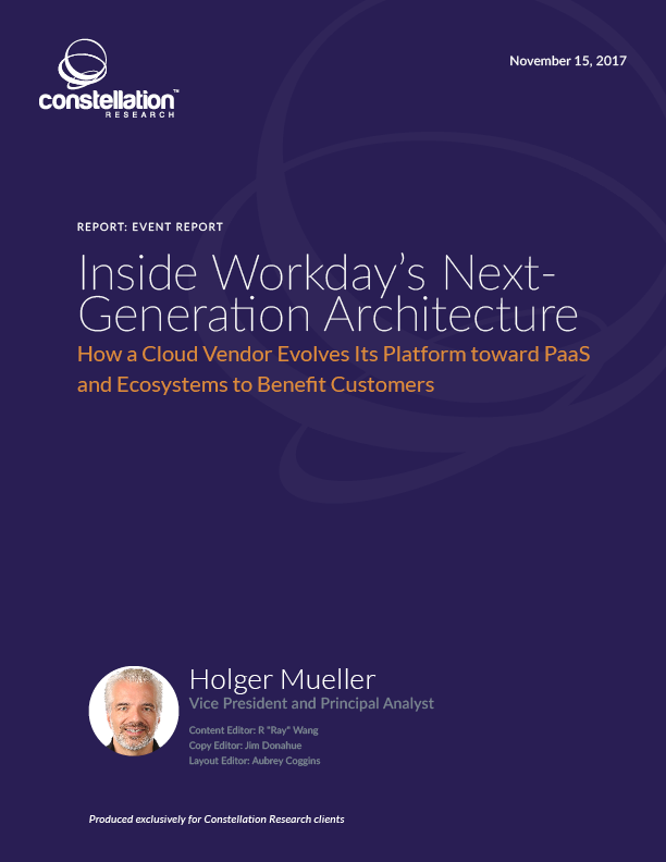 Inside Workday's Next Generation Architecture