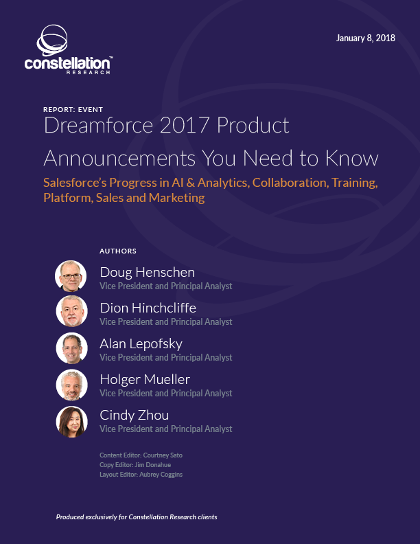 Dreamforce 2017 Product Announcements You Need to Know