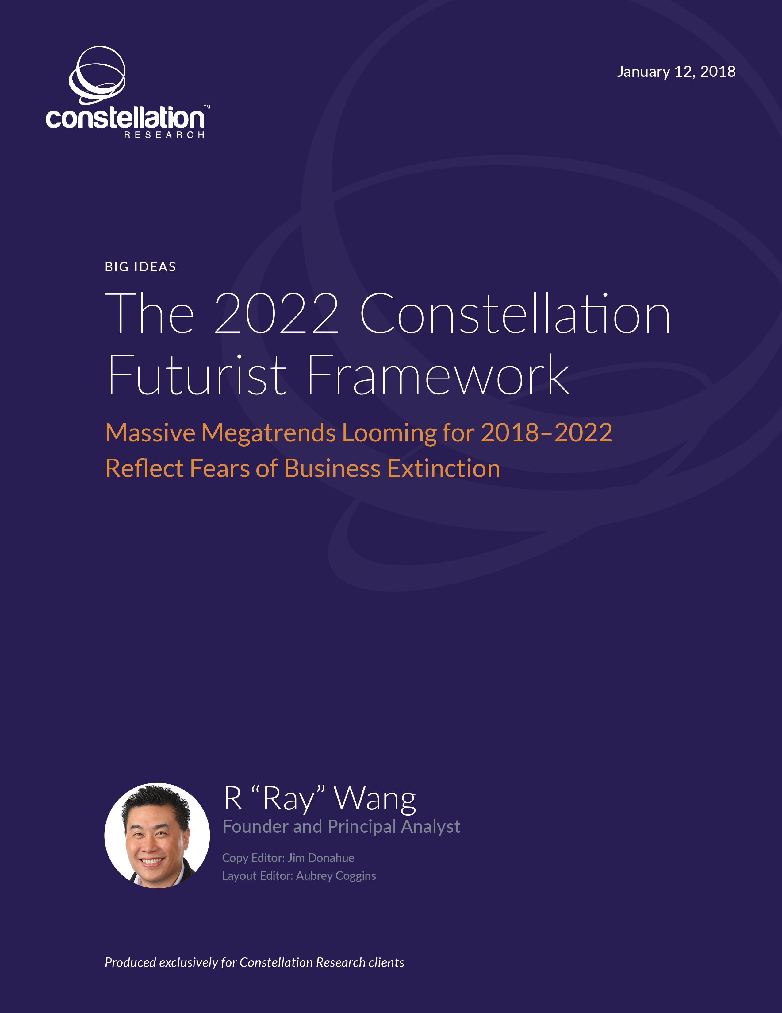 The 2022 Constellation Futurist Framework