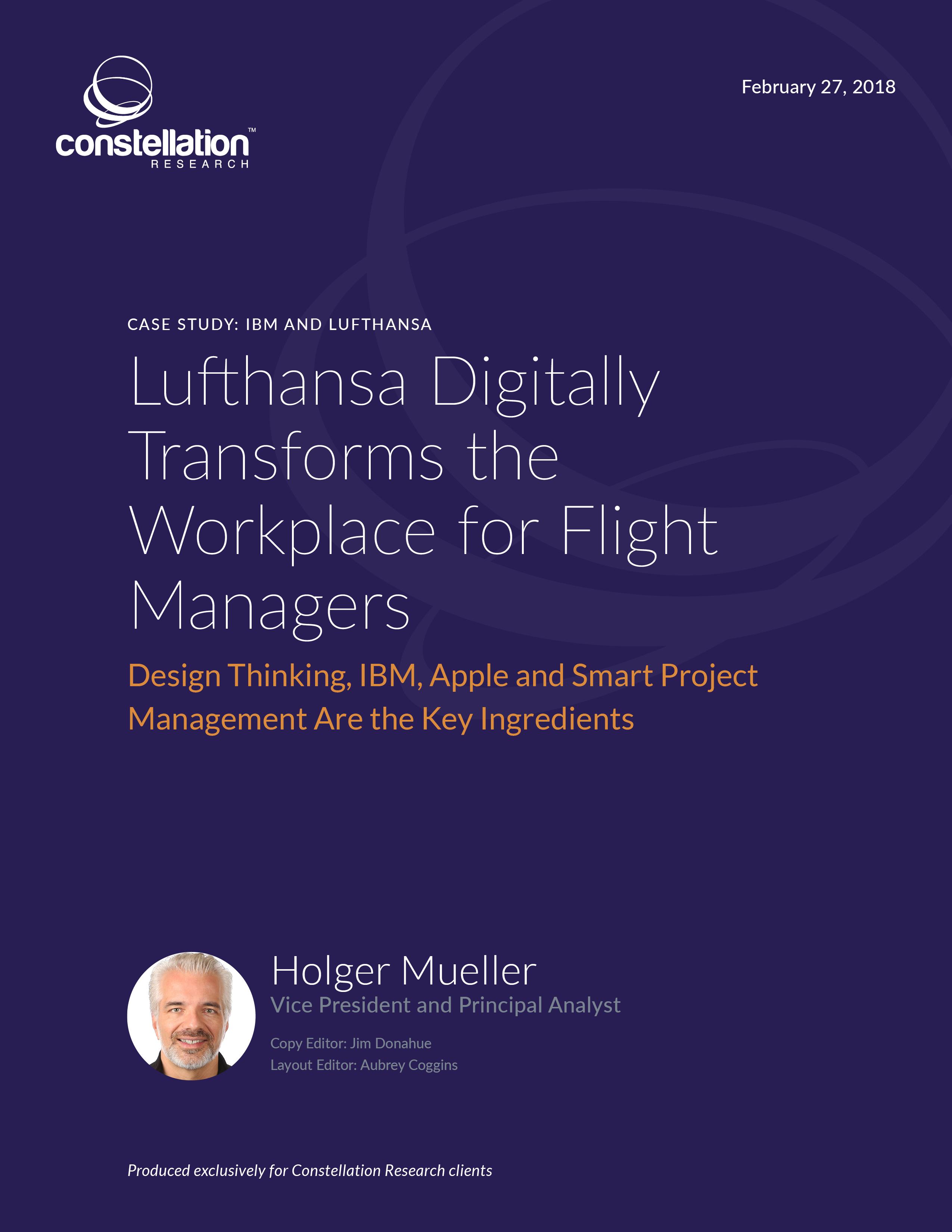 Lufthansa IBM case study