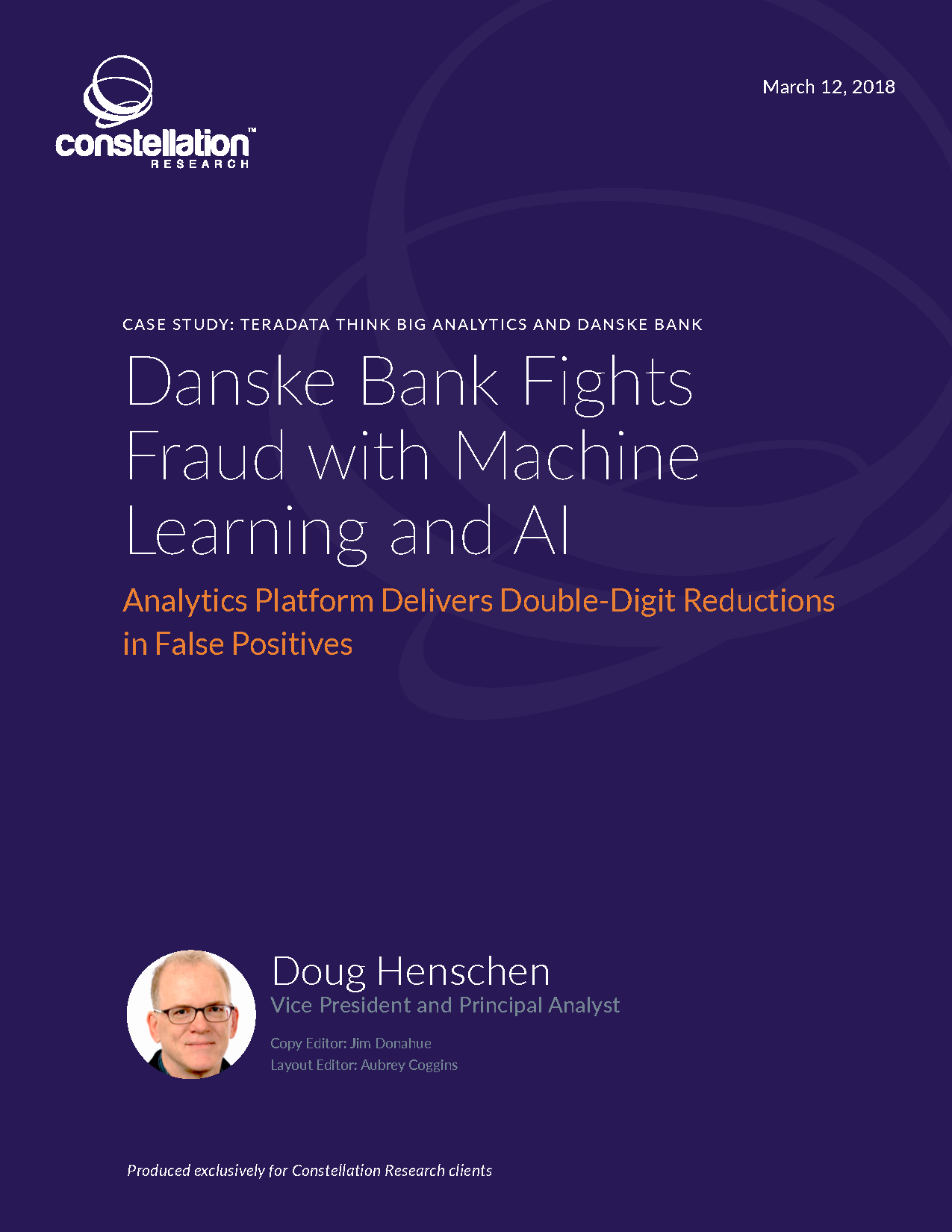Danske Bank Fights Fraud with Machine Learning and AI