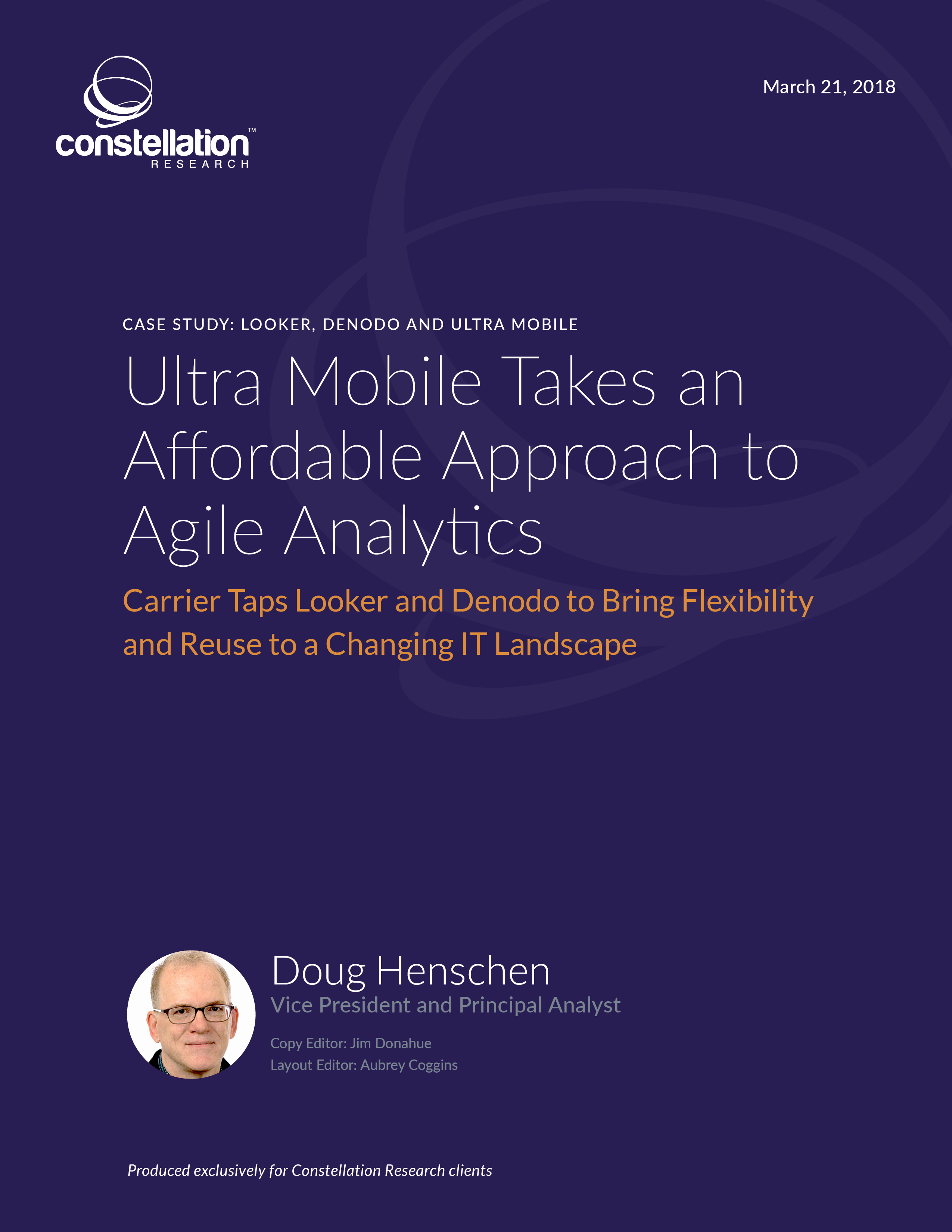 Ultra Mobile Takes an Affordable Approach to Agile Analytics